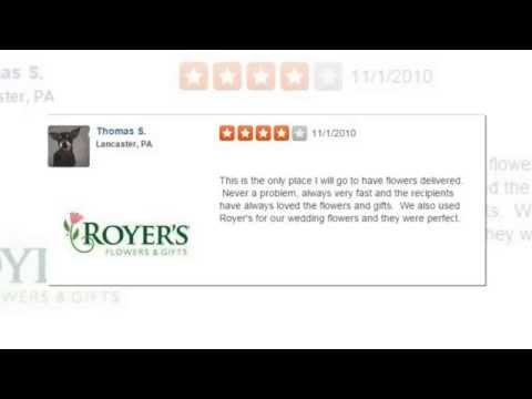 Royers Flowers - REVIEWS - Lebanon (PA) Florist Reviews