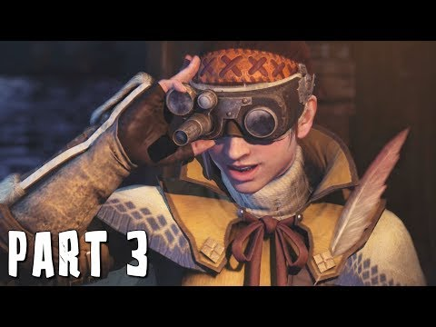MONSTER HUNTER WORLD Walkthrough Gameplay Part 3 – ANCIENT FOREST (MHW)