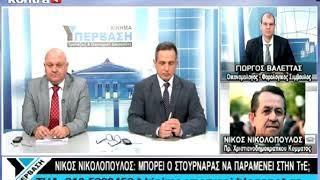 Νίκος Νικολόπουλος  στην εκπομπή ΥΠΕΡΒΑΣΗ