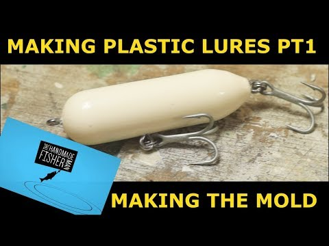 How To Make A Plastic Fishing Lure Part1  Making The Mold