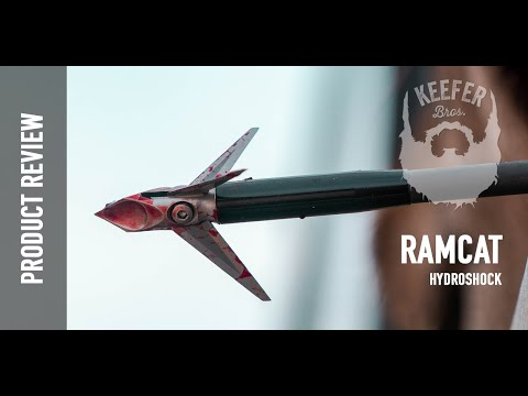 Product Review - Ramcat Broadheads Hydroshock - HUMANIMAL