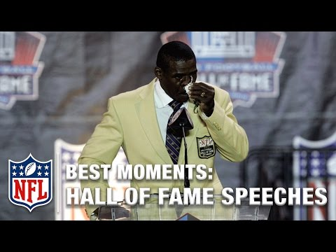 Best Hall of Fame Speech Moments | NFL