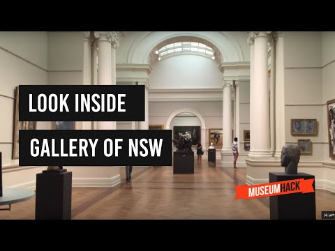 Art Gallery of New South Wales (Gallery of NSW) in Sydney, Australia