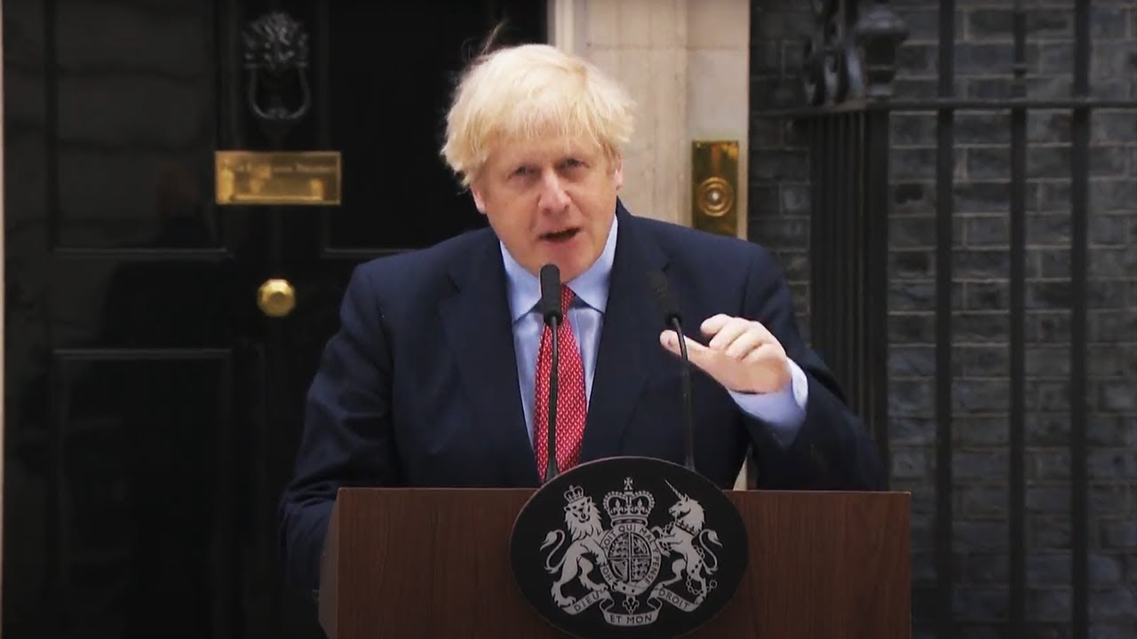 Watch in full: Boris Johnson's return speech after recovering from coronavirus