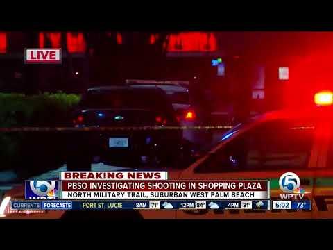 Man fatally shot at shopping plaza in suburban West Palm Beach