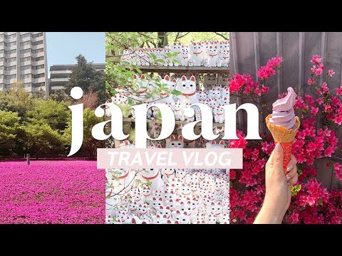 Japan Travel Vlog | Thrifting and Exploring in Tokyo