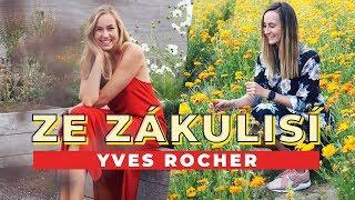 VLOG | Ze zákulisí kosmetiky Yves Rocher!