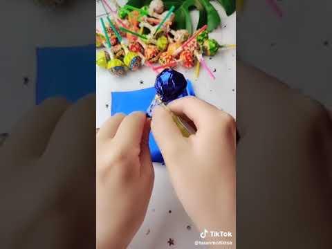 Cách làm bó hoa kẹo mút đẹp | Foci