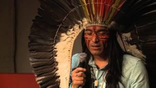 We are all connected with nature: Nixiwaka Yawanawa at TEDxHackney