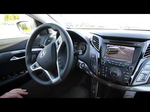 Hyundai i40 Автоматическая парковка