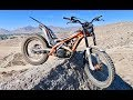 TESTING THE LIMITS OF THE 2018 SCORPA 300 TRIALS BIKE