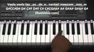 Preminche Premava Piano Tutorials - Nuvvu Nenu Prema
