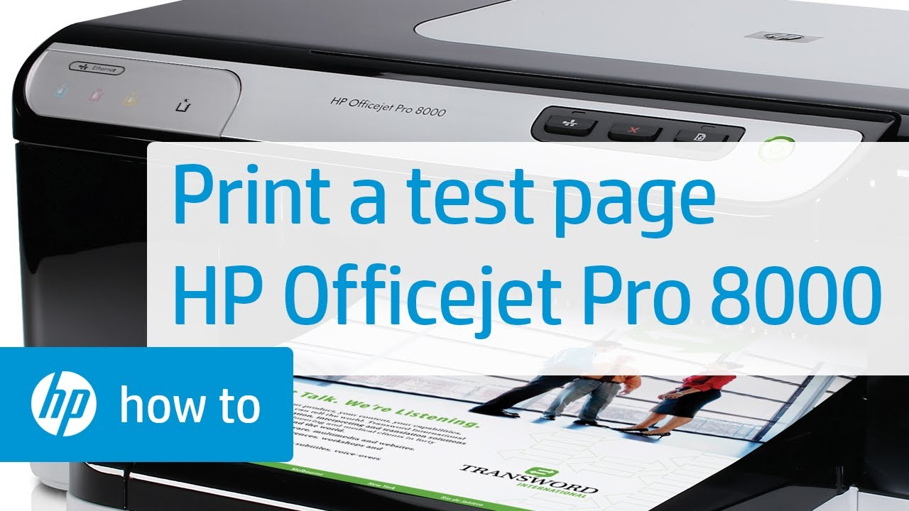 HP Officejet Pro 8000 Printer Drivers