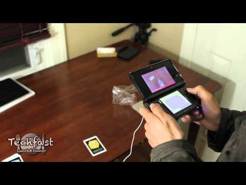 Nintendo 3DS Hands-On Demo: AR Cards