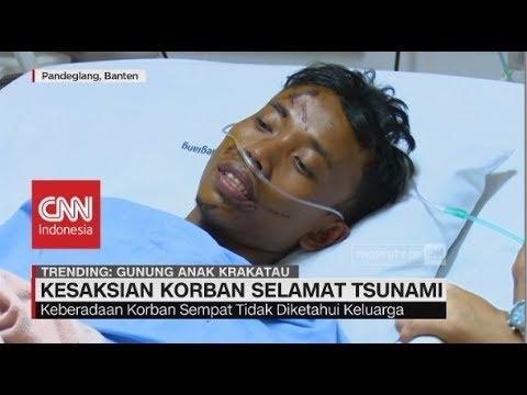 Cerita Korban Selamat saat Menyelamatkan Diri dari Gulungan Ombak Tsunami Selat Sunda