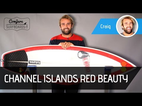 Tom Curren's Channel Islands Red Beauty Surfboard Review no.145 | Compare Surfboards