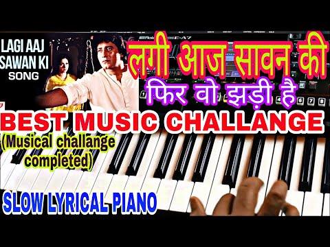 lagi-aaj-sawan-ki-phir-wo-jhadi-hai-|-लगी-आज-सावन-|-karoake-|-lyrics-|-instrumental-|-piano