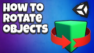 Thumbnail for 'Rotate an object in Unity [2021 Tutorial for beginners]'