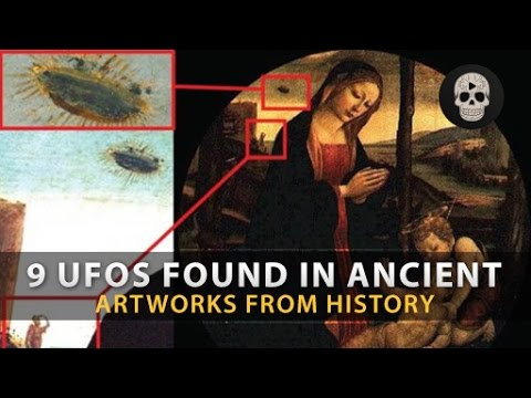 9 Mysterious UFOs Found in Ancient Art