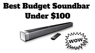 Best Budget Soundbar Under $100