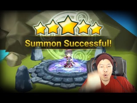 Summoners War - BEST summoning sesion ever!! Five nat5 summons in 70 scroll