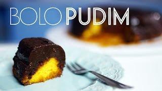 BOLO-PUDIM de CENOURA com CHOCOLATE