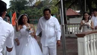 Mellanny and Chad Wedding - Walking the Bride