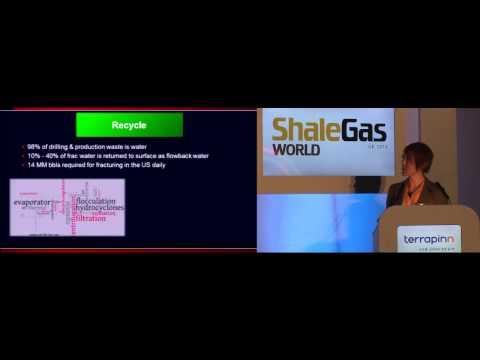 Methods to minimise environmental footprint - Halliburton - Shale Gas World UK 2013