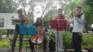 Video One Summer's Day by Joe Hisaishi (OST Spirited Away) on String Quartet download MP3, 3GP, MP4, WEBM, AVI, FLV Juni 2018