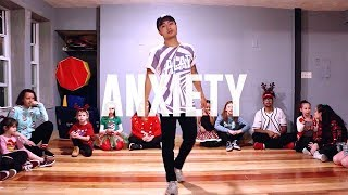Blackbear - Anxiety | Jordan Malixi Choreography
