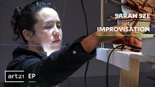 "Sarah Sze: Improvisation | ""Exclusive"" 