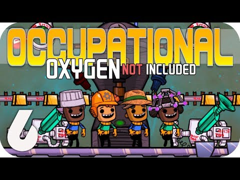 GREENHOUSE FARMING - Oxygen Not Included ▶OCCUPATIONAL UPGRADE◀  EP6 ONI JOBS UPDATE