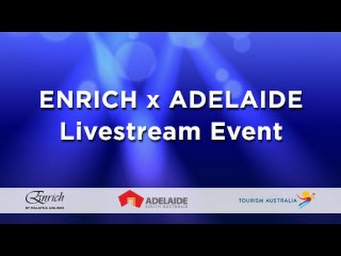 Enrich x Adelaide: Viewing Party - Live Stream Event
