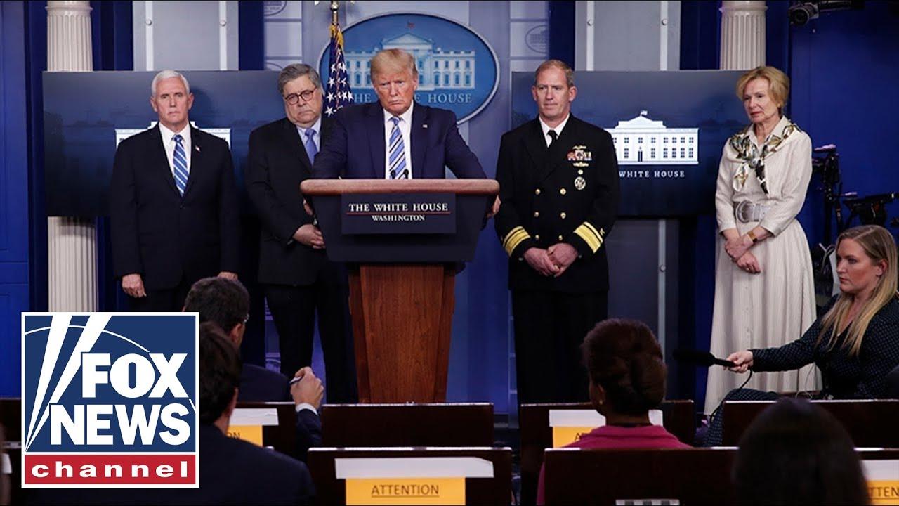 Trump, Coronavirus Task Force hold White House briefing | 4/14/20