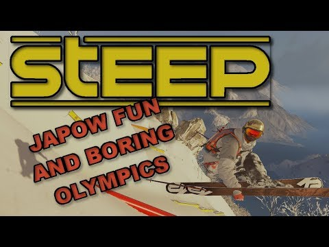 STEEP - Road to the Olympics - Japow Fun and Boring Olympics |