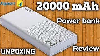 20000 mAh Intex Power Bank unboxing and review Full Tutorial By Hamesha Seekho