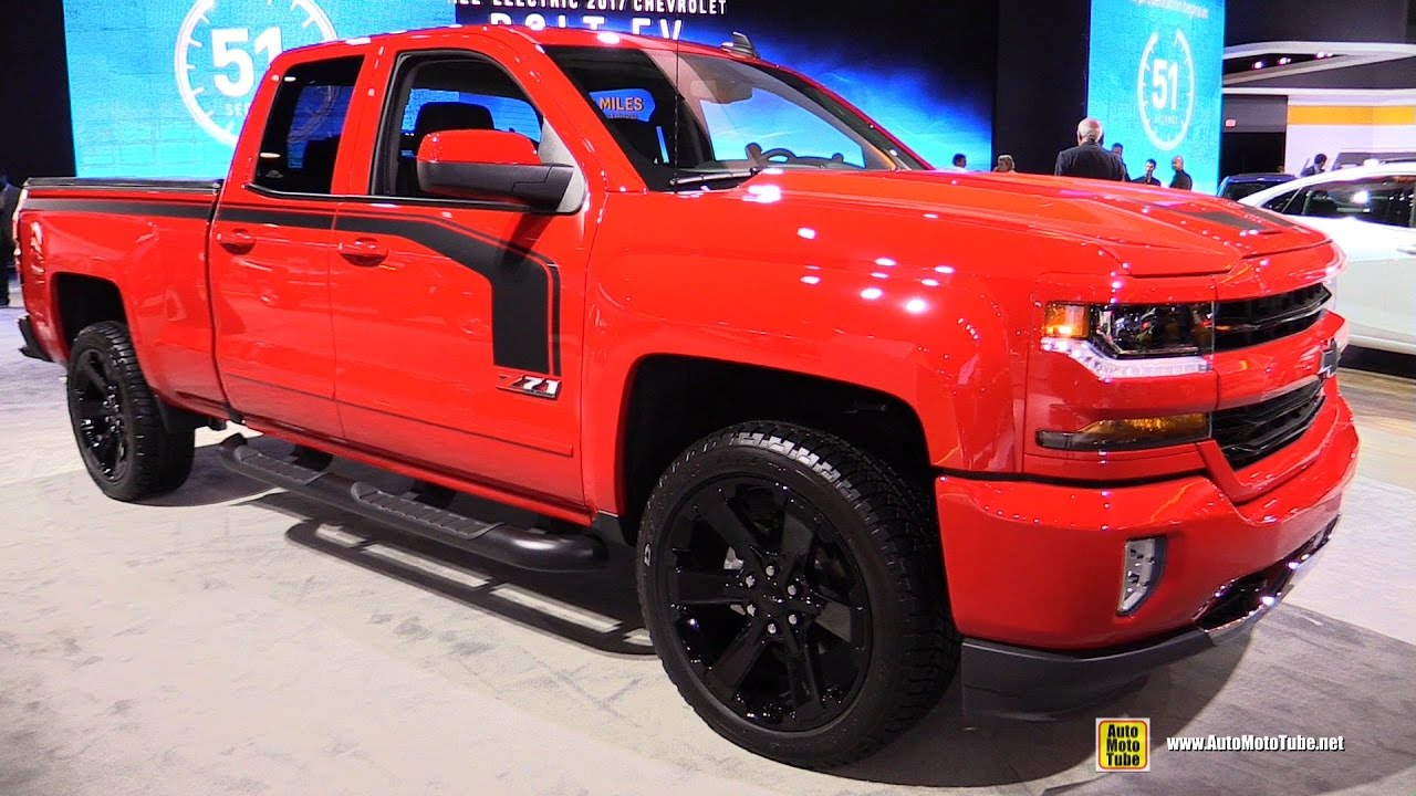 2017 chevrolet silverado 1500 z71 exterior and interior walkaround 2016 la auto show youtube. Black Bedroom Furniture Sets. Home Design Ideas