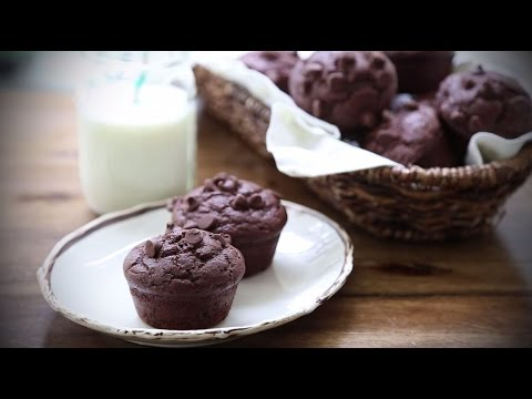 How To Make Chocolate Muffins | Muffin Recipes | Allrecipes.com