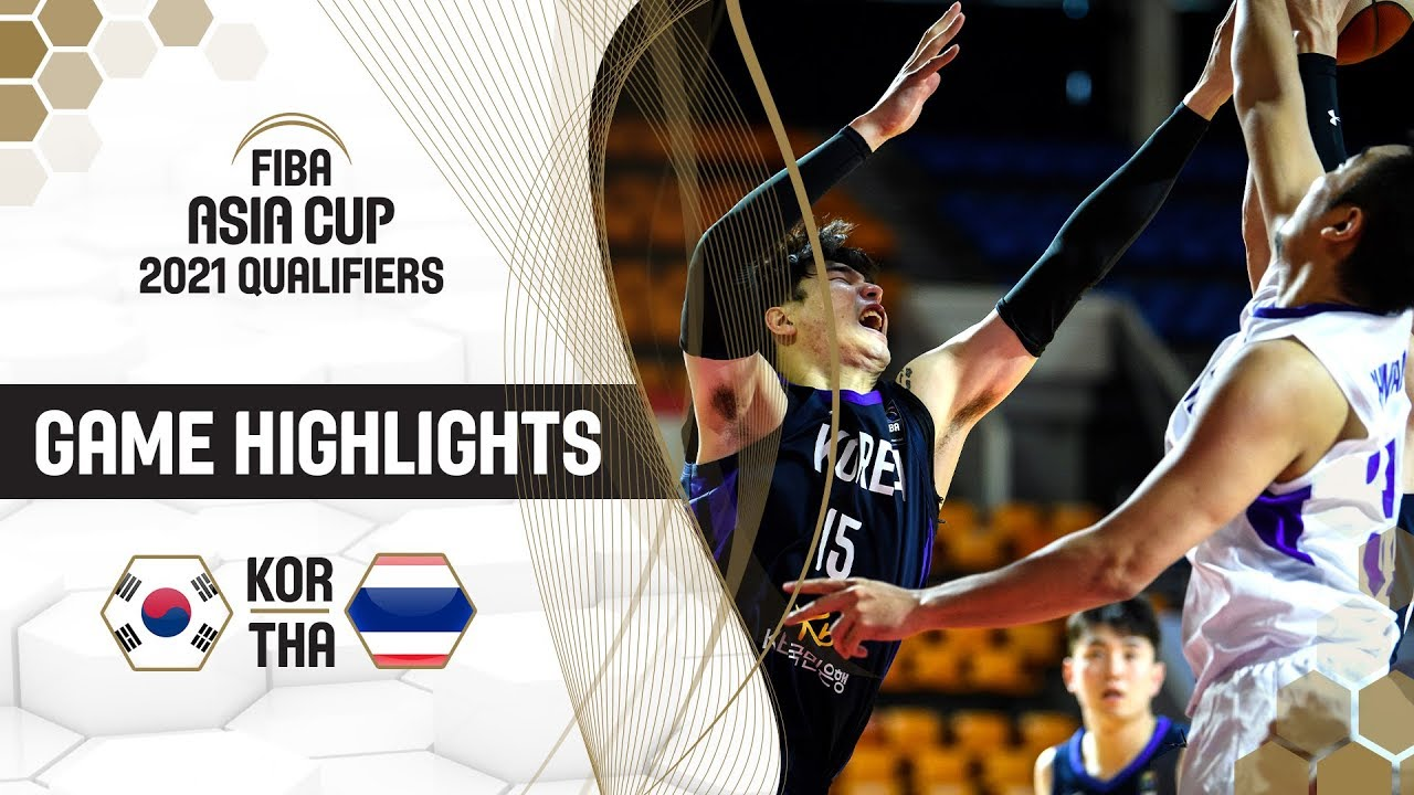Korea v Thailand - Highlights - FIBA Asia Cup 2021