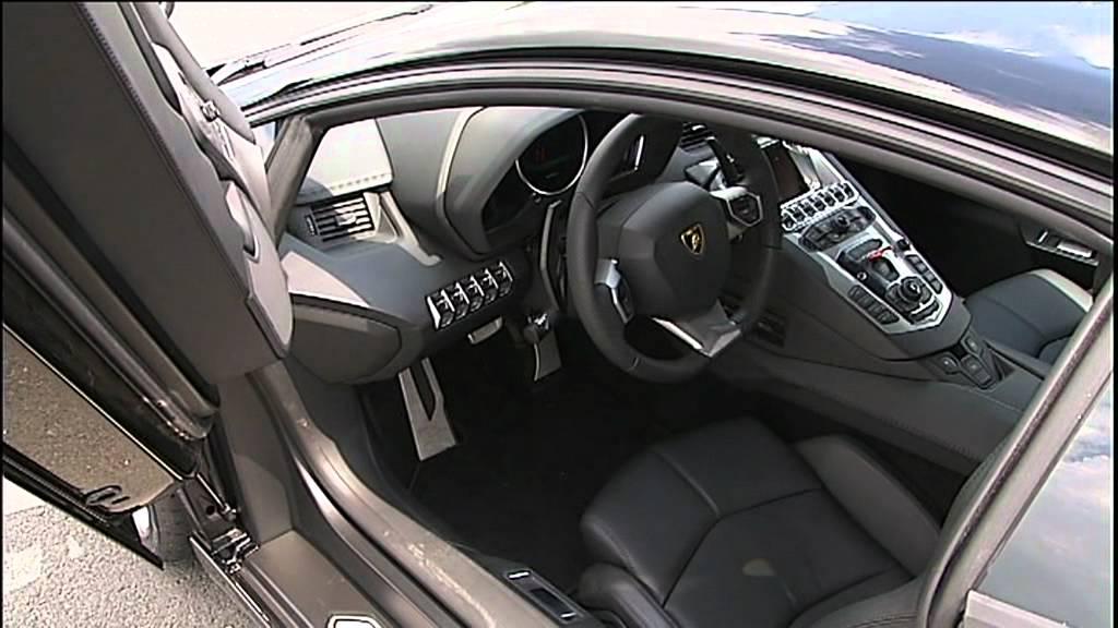 Lamborghini Aventador Lp700 4 Static Interior Black Hd