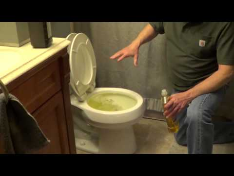 how to unclog a toilet without a plunger youtube. Black Bedroom Furniture Sets. Home Design Ideas