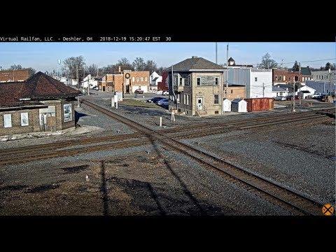 Deshler, Ohio USA - Virtual Railfan LIVE from YouTube