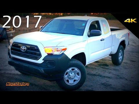 2017 Toyota Tacoma SR - Quick Look in 4K