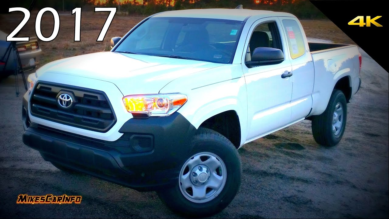 2017 toyota tacoma sr quick look in 4k youtube. Black Bedroom Furniture Sets. Home Design Ideas