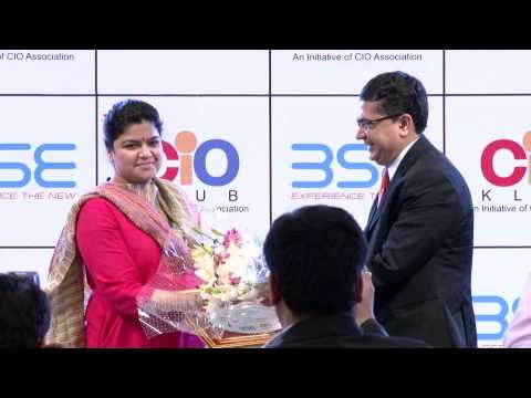 BSE - CIO Klub IT Awards on Saturday, 25th April, 2015 - Inaugural Session