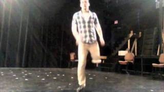 Evan Ruggiero Amputee Tap Dancer w/ Peg Leg