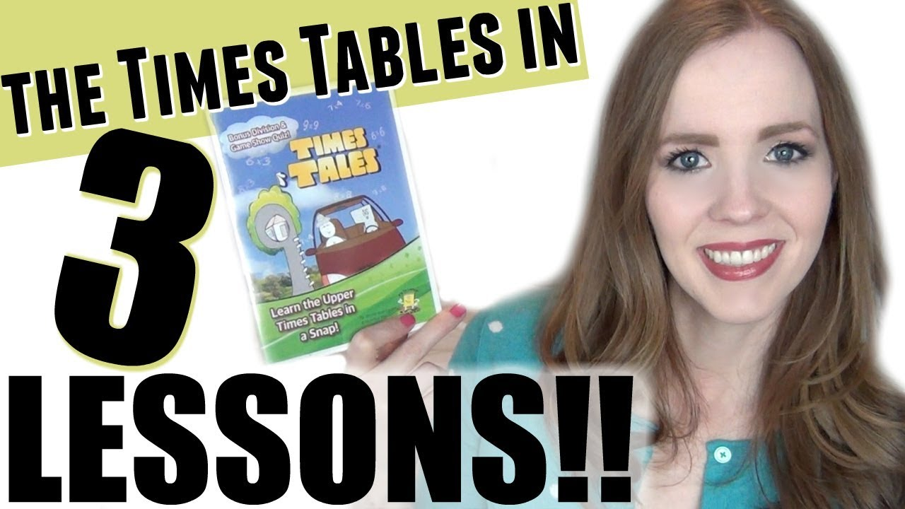 Teach Your Child Times Tables Fast Easy My 7 Year Old Learned The In 3 Lessons