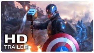 AVENGERS 4 ENDGAME Captain America Lifts Thor's Hammer Mjolnir Trailer (NEW 2019) Superhero Movie HD