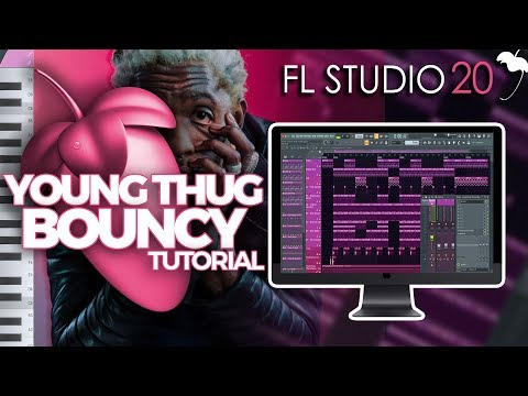 How To CREATE A BOUNCY YOUNG THUG TRAP BEAT in FL STUDIO 20 | Music Producer Tutorial thumbnail
