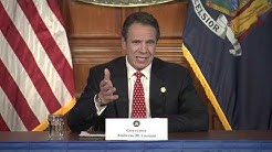 New York Governor Andrew Cuomo discusses his meeting with President Trump | FULL BRIEFING